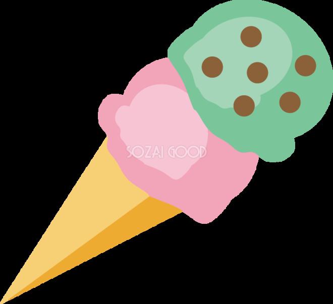アイスクリーム 食べ物 食材イラスト 素材good