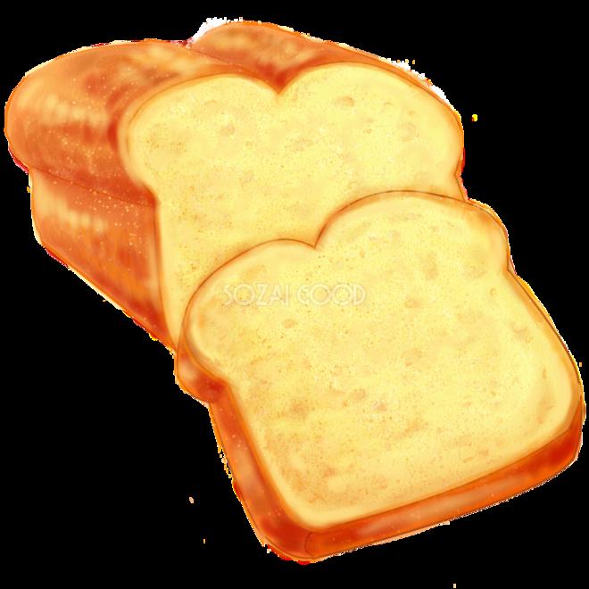 リアルなパウンドケーキ 食べ物 無料イラスト 素材good