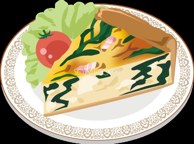 キッシュ 食べ物 無料イラスト 素材good
