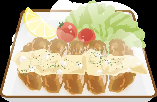 チキン南蛮 食べ物 無料イラスト 素材good