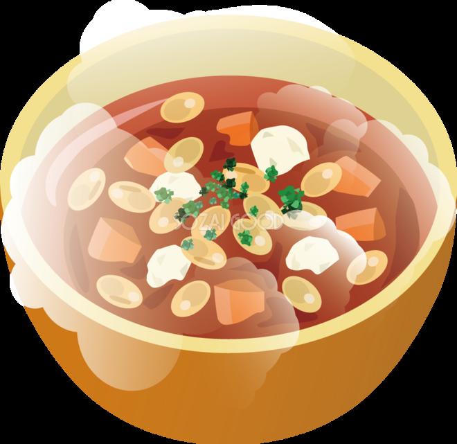 トマト豆スープ 食べ物 無料イラスト 素材good