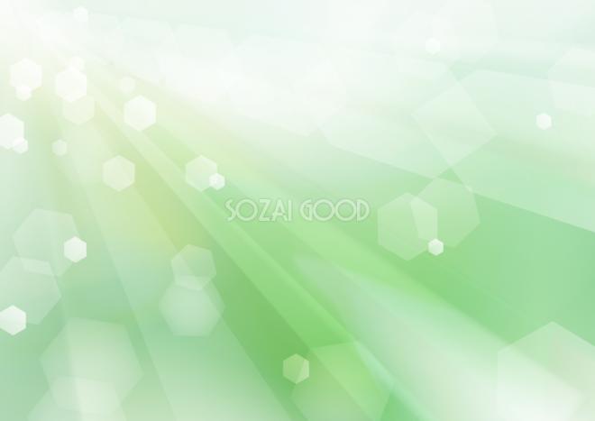 緑 グリーンのキラキラ 背景イラスト素材 素材good