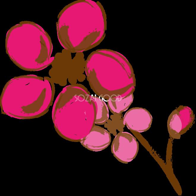 かっこいい桜 春イラスト絵の具風デザイン39535 素材good