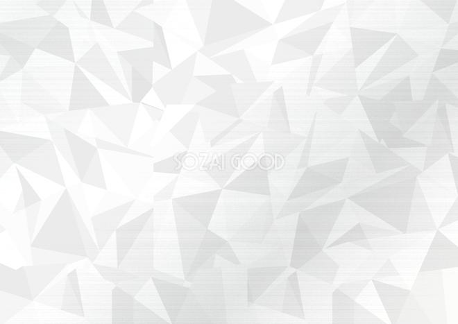 シンプル白ポリゴンの背景無料イラストテクスチャ43475 素材good