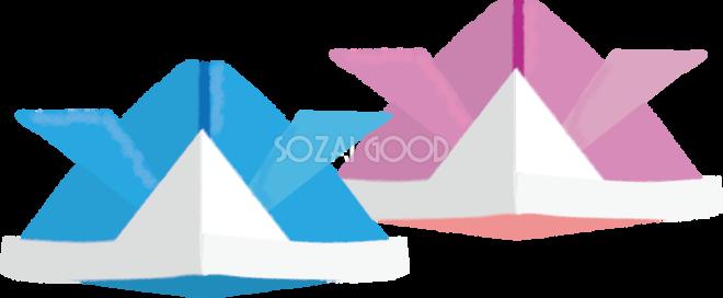 すべての折り紙 折り紙 鯉のぼり : こどもの日折り紙兜44318 | 素材 ...