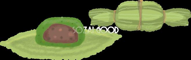 笹だんごの無料イラストこどもの日44346 素材good