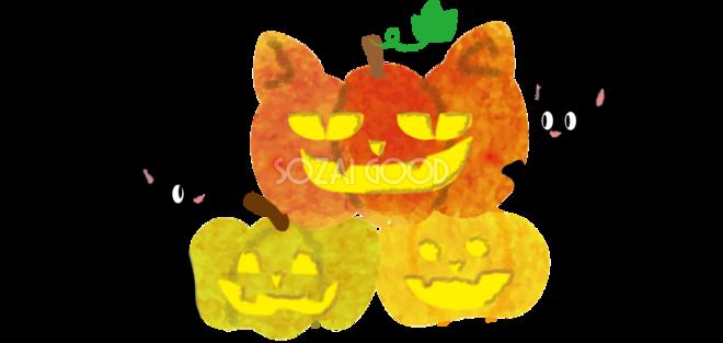 ハロウィン 猫 イラスト