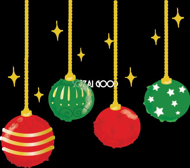 クリスマス飾り クーゲル の無料イラスト 素材good