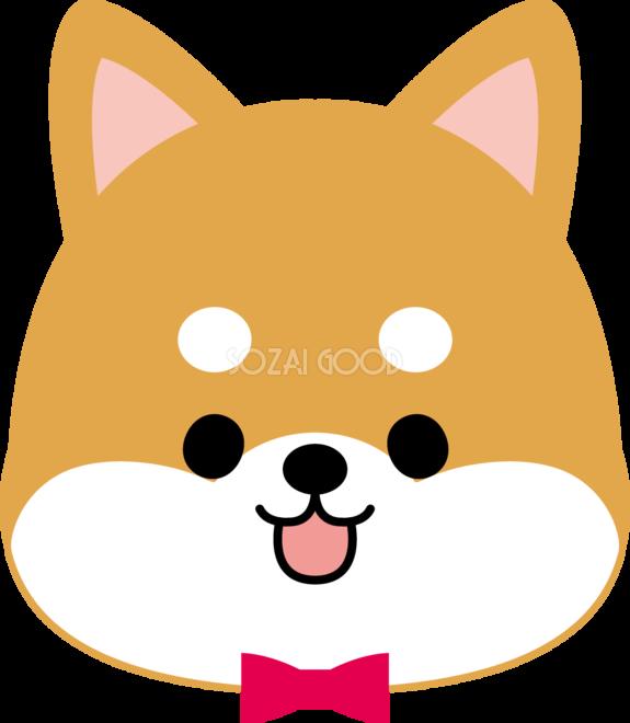 柴犬かわいい顔お面無料イラスト67767 素材good