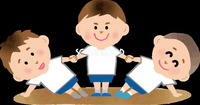 組体操 子供の運動会無料イラスト81389 素材good