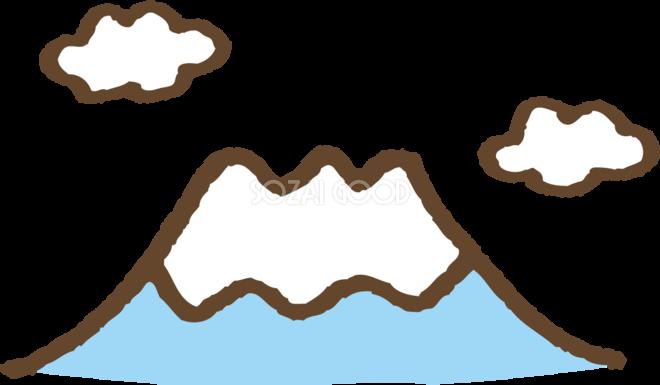 かわいい富士山 イラスト 無料フリー 素材good